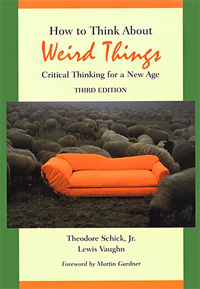 How to Think about Weird Things (book cover)