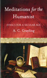 Meditations for the Humanist (book cover)
