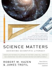 Science Matters: Achieving Scientific Literacy (book cover)