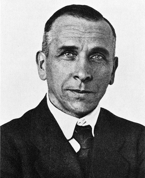 Alfred Wegener in 1924. (Courtesy Wikimedia Commons).