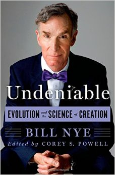 Cover of Bill Nye's book Undeniable