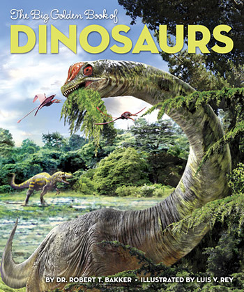 Cover of The Big Golden Book of Dinosaurs