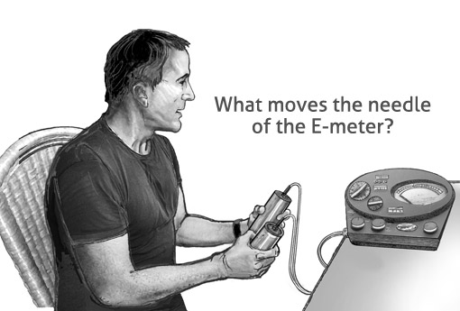 E-Meter illustration copyright Pat Linse 2011