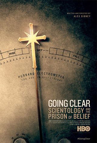 Promotional poster for Going Clear (2015), from HBO Documentary Films