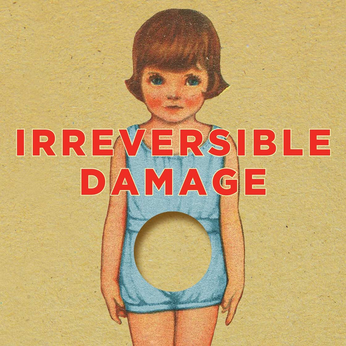 Detail of cover of Irreversible Damage, by Abigail Shrier