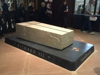 Richard III's tomb at Leicester Cathedral. Photo by Isananni