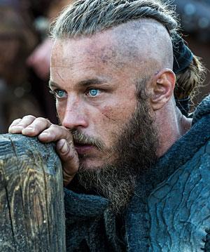 Ragnar, portrayed by Travis Fimmel Photo by Bernard Walsh/HISTORY Copyright 2014