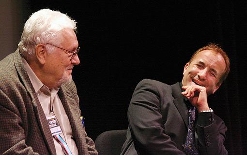 Stenger and Shermer (photo)