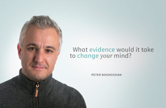 What evidence would it take to change your mind? (Peter Boghossian)